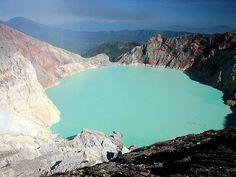 Ijen Crater-Indonesia.