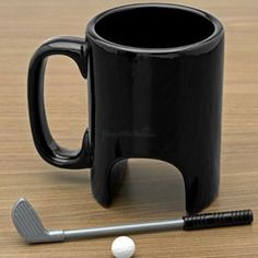 Cool Mini Table Golf Entertainment Coffee Mug 300ml For Office