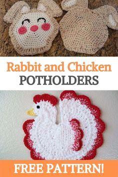 Crochet Butterfly Free Pattern, Crochet Applique Patterns Free, Easter Crochet Patterns, Crochet Crafts, Crochet Projects, Crochet Ideas, Crochet Tutorials, Yarn Crafts, Crochet Appliques