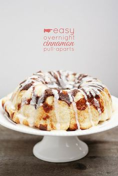 Easy Overnight Cinnamon Pull-Aparts from Lulu the Baker | Just like cinnamon rolls but without the early wake-up call!.