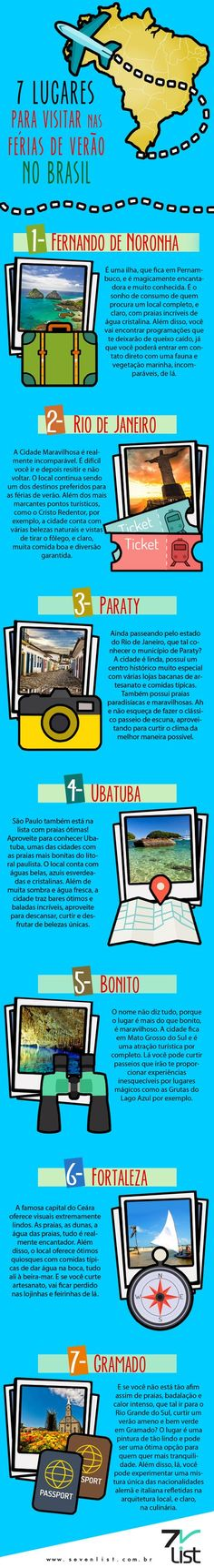 7 lugares para viajar no Brasil Mais