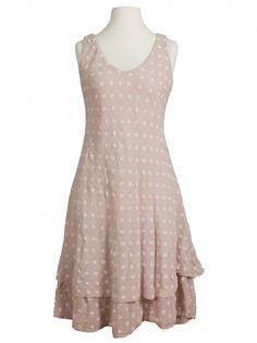 Damen Kleid im Lagenlook, rosa von Diana bei www.meinkleidchen.de