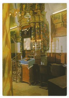 The Ari (Ashkenazi) Synagogue, Safed, Israel
