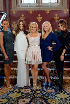The Spice Girls reunite at the launch of Viva Forever! in London, June 26th 2012