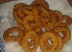 Cibulové kroužky v těstíčku Onion Rings, Food And Drink, Cooking, Ethnic Recipes, Halloween, Author, Kitchen, Onion Strings, Brewing