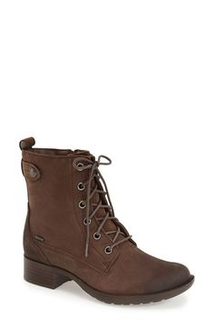 Cute boots that are waterproof, have gripping soles, AND come in wide. They also come in black, which I want.