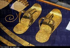Tutankhamun's sandals. Treasure of the Museum of Egyptian Antiquities, Cairo, Egypt Egypt Art, Cairo Egypt, Ancient Artifacts, Ancient Egypt, Ancient Aliens, Ancient Greece, Machu Picchu, Ancient World History, European History