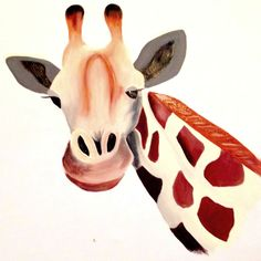 Giraffe Acrylic on Canvas