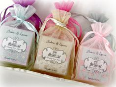 Shabby Chic Wedding favors | ... soap favors, Set of 10, Abbey James, shower favors, shabby chic favors