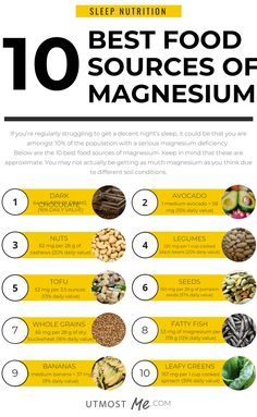 Sleep nutrition tips - A magnesium deficiency could be effecting how much sleep you are getting! This infographic shares tips for how you can boost your magnesium naturally from food sources. Foods High In Magnesium, Magnesium Benefits, Low Magnesium Symptoms, Magnesium For Sleep, Magnesium Sources, Magnesium Deficiency Symptoms, Health Benefits, Healthy Foods To Eat, Healthy Eating