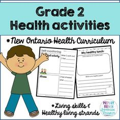 Activities and images to support teaching the *NEW* Ontario Health Curriculum! Health Lessons, Health Tips, Ontario Curriculum, Health Snacks For Work, Health And Physical Education, Health Unit, Health Activities, Creative Activities, Science