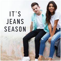 Ripped jeans with a worn-in feel and loved-hard look, featuring heavy destruction, medium wash, fading and whiskering, side hem slits, five-pocket styling and iconic back pocket embroidery, Imported