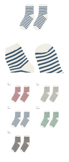 basic printed socks