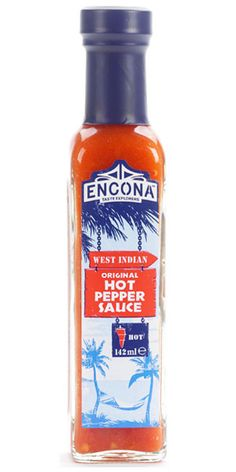 Encona West Indian. No meal is complete without it. Puts hair on your chest.