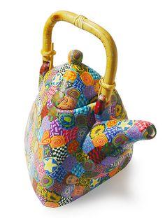 Wanda's Designs Oriental teapot