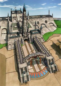 Castle Randgriz from Valkyria Chronicles