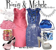 inspired by mira sorvino and lisa kudrow as romy white and michele weinberger in 1997s romy - Romy And Michelle Halloween Costumes