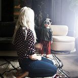 layers of texture, dark and light.  the home of stylist kate young,  photo from theglow.com