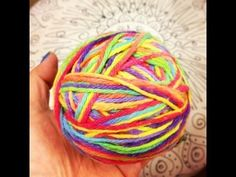 I want to do this now!!!! Make Your Own Rainbow Yarn - Dye