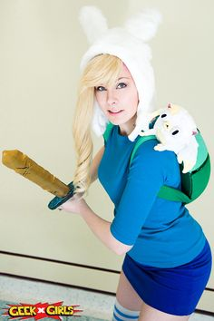 Fionna Adventure Time Cosplay http://geekxgirls.com/article.php?ID=3044