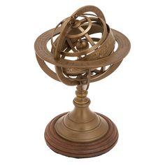 Armillary Nautical Maritime Ornament Sculpture