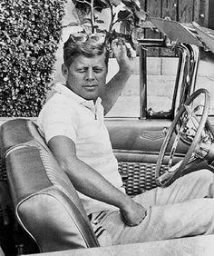 Casual JFK.