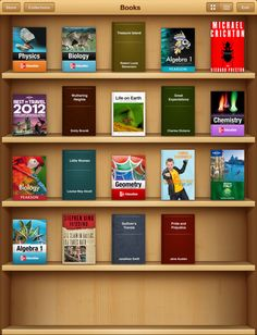 iBooks permite descargar y leer libros cómodamente