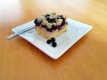 Buttermilch-Heidelbeer Kuchen mit Streusel - lacky-bakings Webseite! Butter, Waffles, Sweets, Baking, Breakfast, Food, Website, Sprinkles, Play Dough