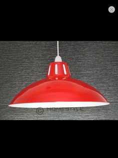 Retro metal cafe light for kitchen off eBay x 2