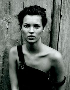 Kate Moss, 1994  by Peter Lindbergh
