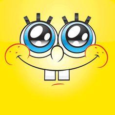 Spongebob Funny Faces Funny Cartoon Sponge Bob Yellow Face