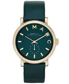 nice Montre pour femme : Montre pour femme : Marc by Marc Jacobs Watch Women's Baker Emerald Green Te... Supernatural Style