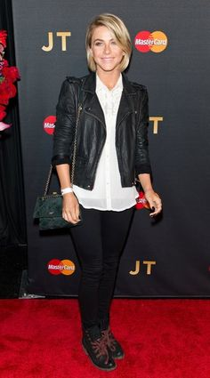 Julianne Hough attended Justin Timberlake's NYC show last night.