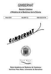 Gimbernat [recurs electrònic] : revista catalana d'història de la medicina i de la ciència Barcelona : Universitat de Barcelona, 1984-