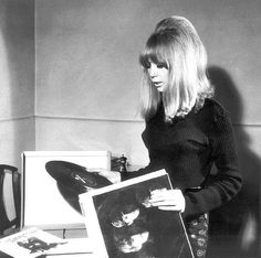 Pattie Boyd digs The Beatles.