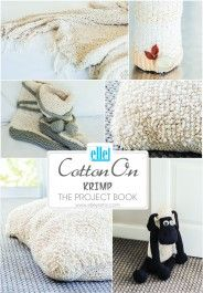 Cotton On Krimp | The Project Book Knitting Patterns, Crochet Patterns, Book Projects, Yarns, Books, Cotton, Free, Knit Patterns, Libros