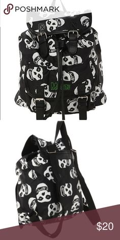 misfits band backpack bag in good condition. Hot Topic Bags Backpacks