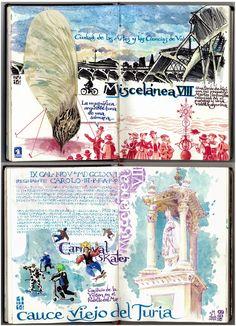 Ladrones de Cuadernos   #journal  #watercolor     http://ladronesdecuadernos.blogspot.com.es/2014/03/miscelanea-vii.html
