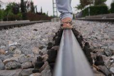 train tracks   Turkish Konya  tren rayları türkiye