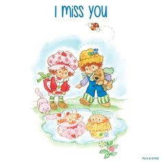 Strawberry Shortcake & Friends ❤ I miss you! Cute Little Girls, My Little Pony, Strawberry Shortcake Cartoon, Old School Toys, Rainbow Brite, Sanrio Hello Kitty, Patch Kids, Vintage Cartoon, Disney Pictures