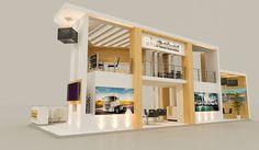 Al Hamad Automobiles Booth. Exhibition Booth Design, Exhibit Design, Stand Design, Bathroom Medicine Cabinet, Showroom, Cool Designs, Shelves, Pizza Restaurant, Behance