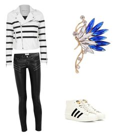 """""""Minzy Inspired"""" by kpopqueen on Polyvore featuring adidas, Topshop and Yves Saint Laurent"""