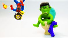 Spiderman VS Hulk Superhero Toilet Prank Goes Wrong in this Superheroes in Real Live Play Doh Stop Motion Video.  More Play Doh Stop Motion Animation:  DENTIST SPIDERMAN VS HULK SUPERHERO PRANK GOES WRONG SUPERHEROES IN REAL LIFE PLAY DOH STOP MOTION https://www.youtube.com/watch?v=UvJr9H7JUns  HULK VS SPIDERMAN SUPERHERO PRANK  SUPERHEROES IN REAL LIFE  PLAY DOH STOP MOTION ANIMATION https://www.youtube.com/watch?v=mLxaWvlUCDU  Grave Digger Monster Truck Play Doh STOP MOTION Claymation…