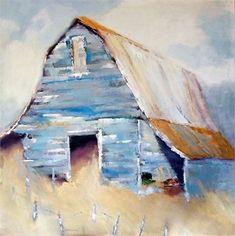 Watercolor Barns, Watercolor Paintings, Art Paintings, Acrylic Paintings, Watercolours, Farmhouse Paintings, Country Paintings, Barn Pictures, Barn Art