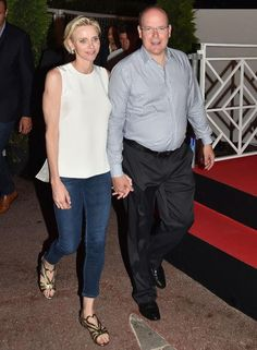 Princess Charlene's denim style is 1 of 11 pics - see them all here