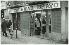 EL CALAMAR BRAVO Zaragoza-Ocio Cadiz, Vintage Photos, Street View, Memories, Zaragoza, Urban Sketching, Old Photography, Antique Photos, Cities