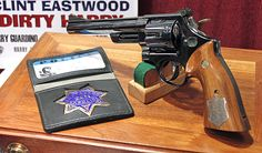 1 of 3 Smith & Wesson Model 29 .44 Magnum revolvers used by Clint Eastwood in the movie Dirty Harry