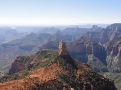 Point Imperial, north rim of the Grand Canyon, Arizona