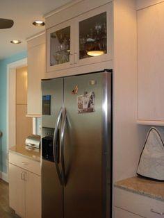 New side by side fridge organization refrigerators cabinets 55 ideas Refrigerator Cabinet, Counter Depth Refrigerator, Side By Side Refrigerator, Kitchen Cupboard Organization, Refrigerator Organization, Barn Kitchen, Kitchen Ideas, Kitchen Redo, Kitchen Inspiration