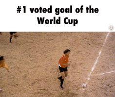 O melhor gol de todos os tempos